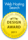 Web Hosting Search Design Award