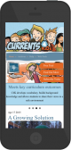 Currents4Kids Mobile Responsive screenshot